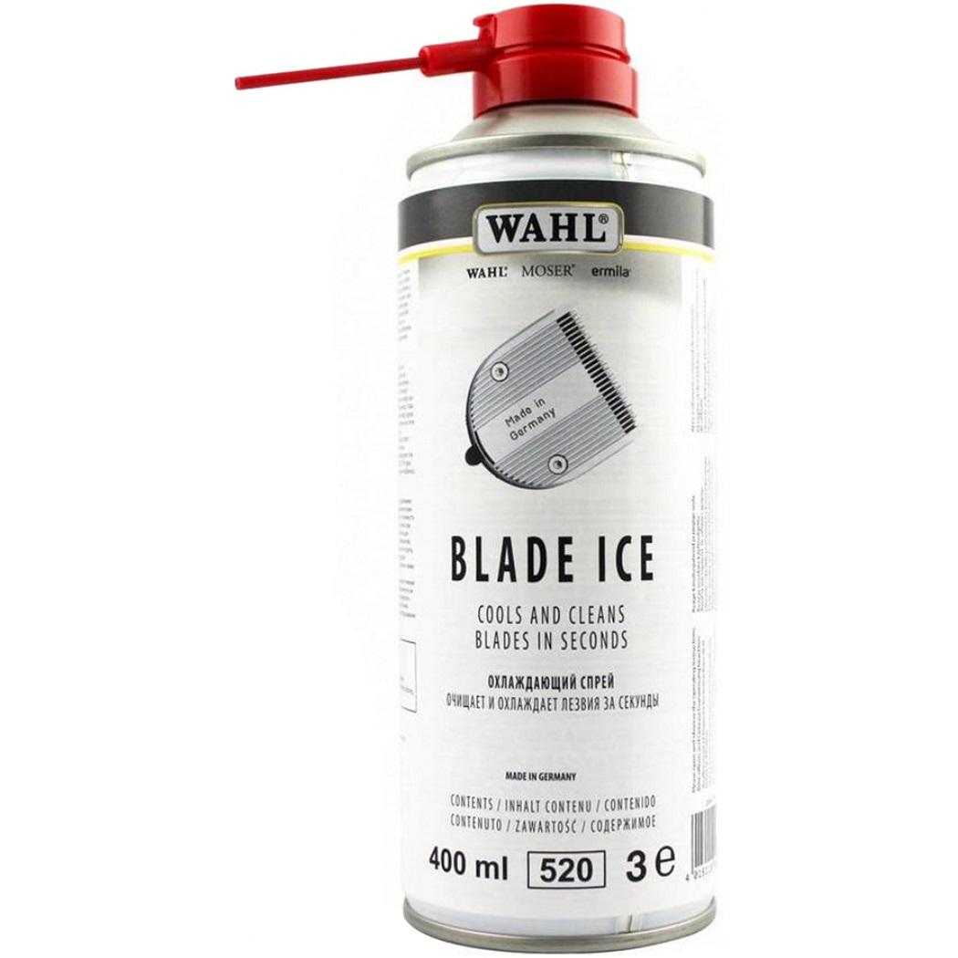 Wahl Ice Blade 4w1 - chłodzi, czyści,  smaruje i ochrania ostrza maszynki