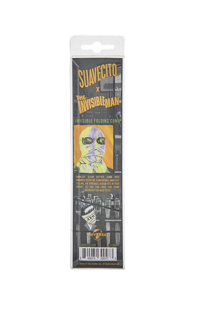 Suavecito Invisible Man - przeźroczysty grzebień do brody