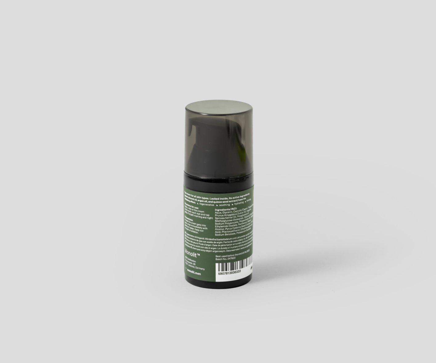 Monolit Krem pod oczy z olejem arganowym 30ml