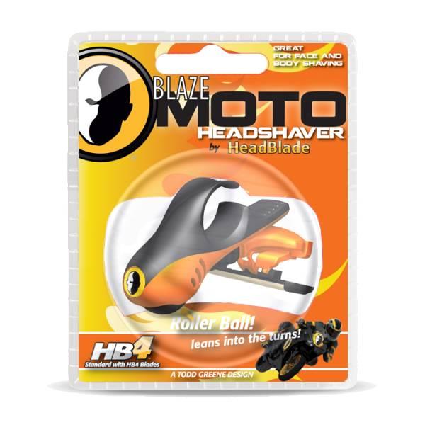 HeadBlade ATX Moto blaze - Męska maszynka do golenia głowy na łyso