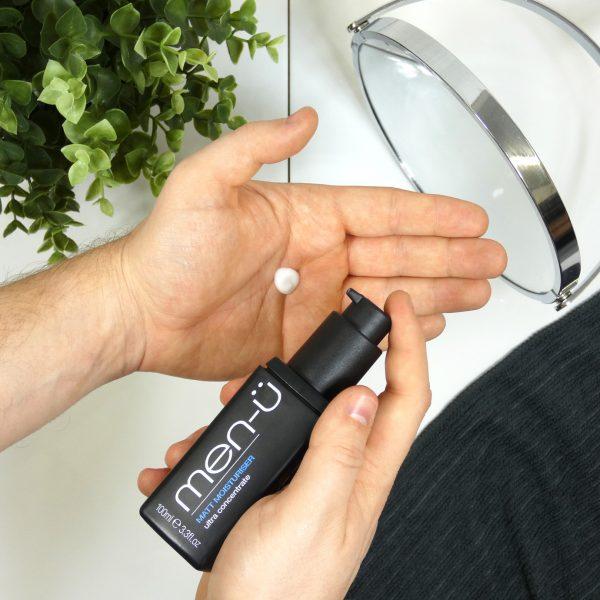 men-u Męski matująco-nawilżający balsam do twarzy 100 ml Zestaw