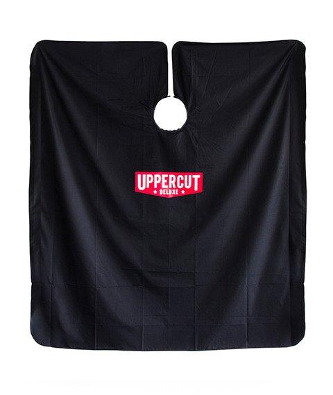 Uppercut Deluxe barber cape - pelerynka barberska czarna