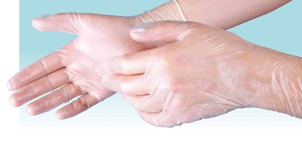 Rękawiczki ochronne winylowe 200 szt. rozmiar XL