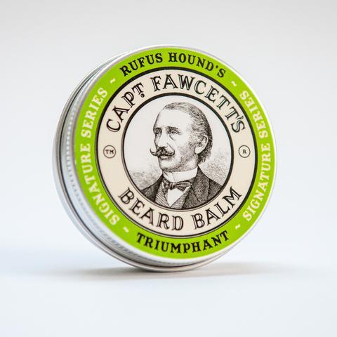 Captain Fawcett Zestaw prezentowy Triumphant - perfum, olejek, balsam, wosk i składany grzebień