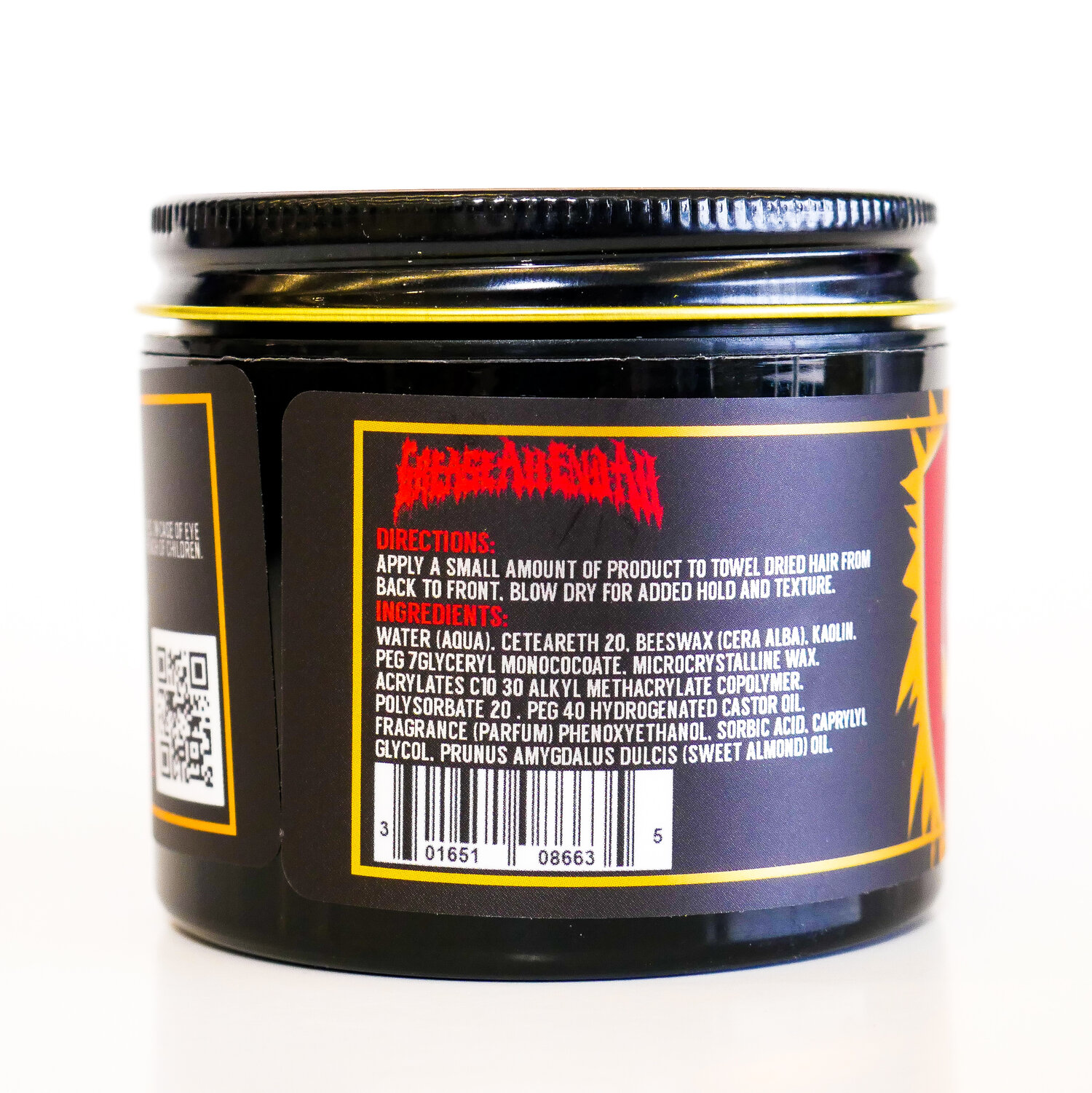 Lockhart's Grease All End All Water Based Clay Pomade 105g