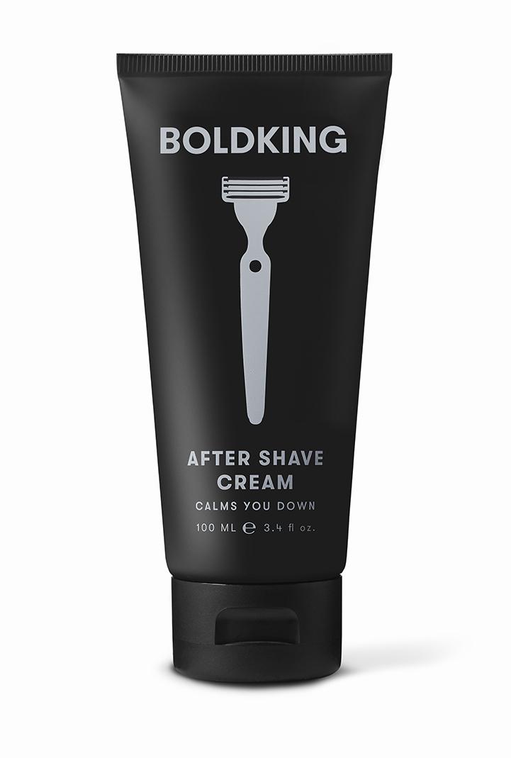 Boldking - Uniwersalny krem po goleniu twarzy, ciała i głowy 100ml