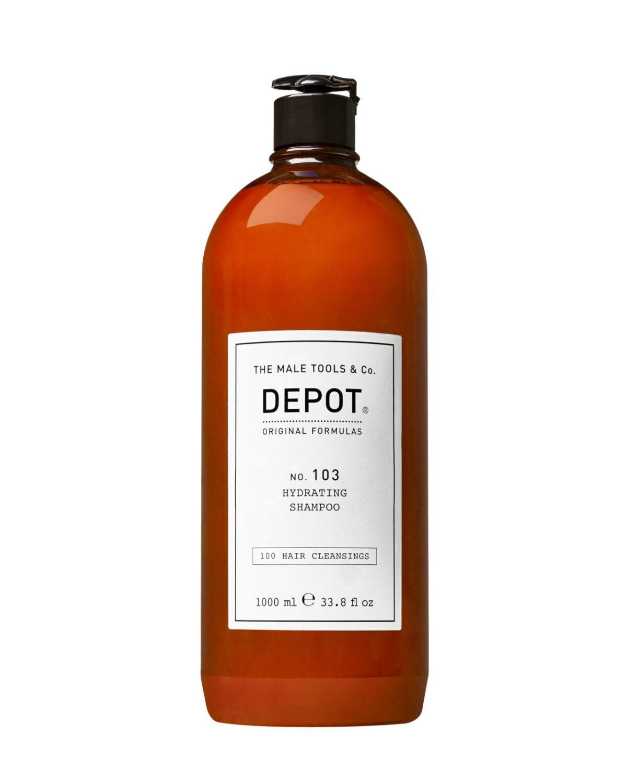 Depot 103 Szampon nawilżający dla suchych i łamliwych włosów 1000ml