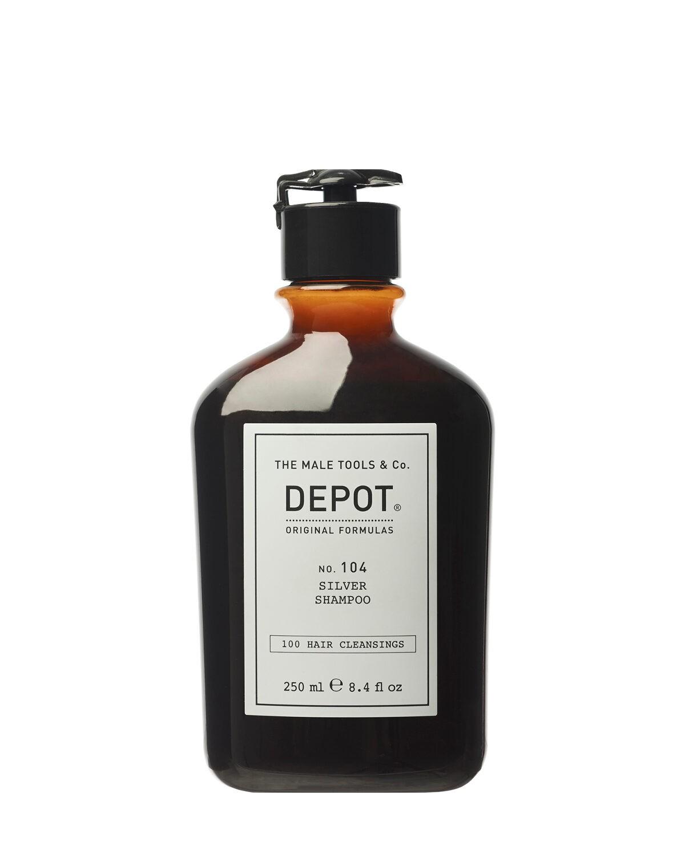 Depot 104 Srebrny szampon do włosów siwych i rozjaśnianych 250ml