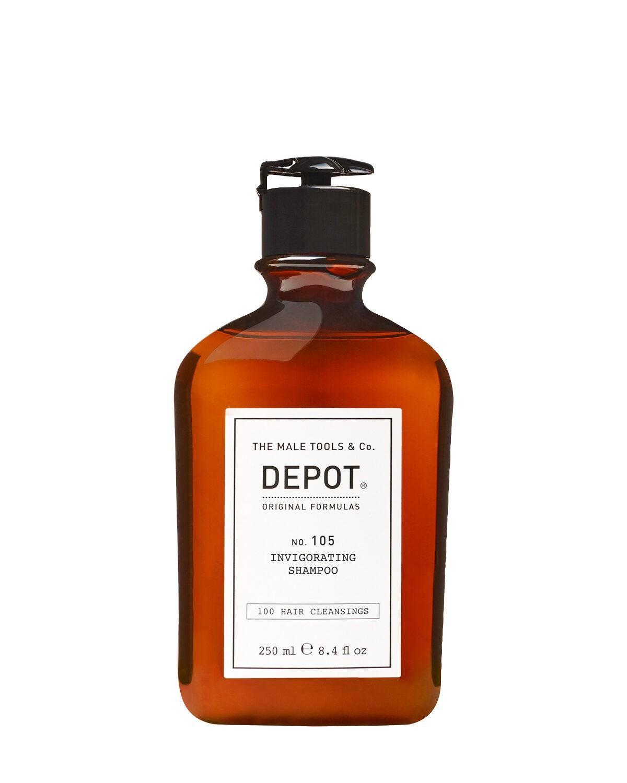 Depot Męski zestaw prezentowy - Szampon i odżywka na porost włosów. Podróżny zestaw do pielęgnacji obuwia gratis.