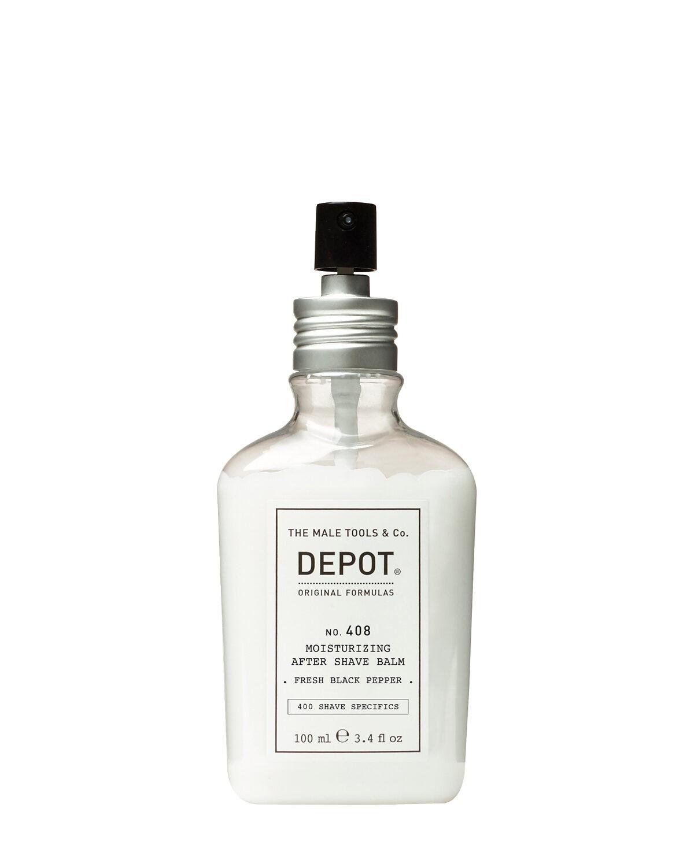 Depot 408 Nawilżający balsam po goleniu o klasycznym zapachu wody kolońskiej 100ml
