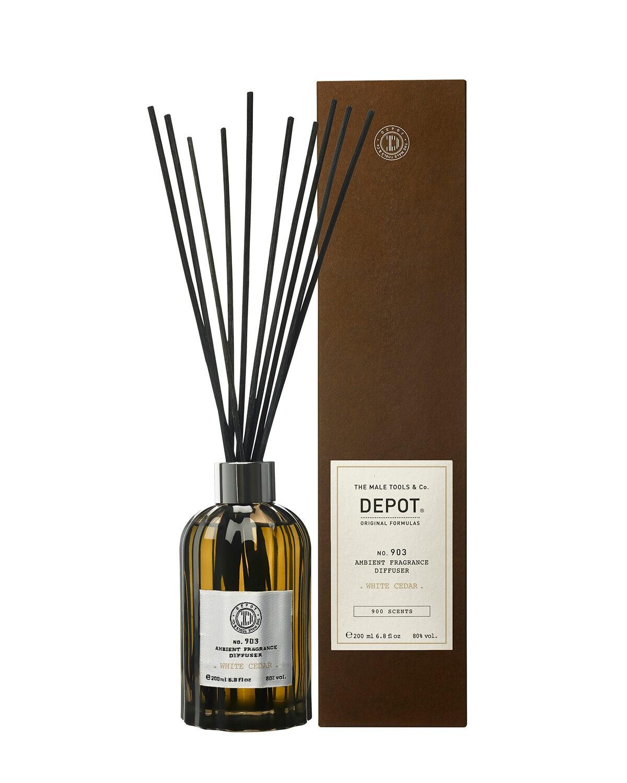 Depot 903 Dyfuzor zapachowy - zapach żywotnika zachodniego, cytrusów, bursztynu i drzewa 200ml