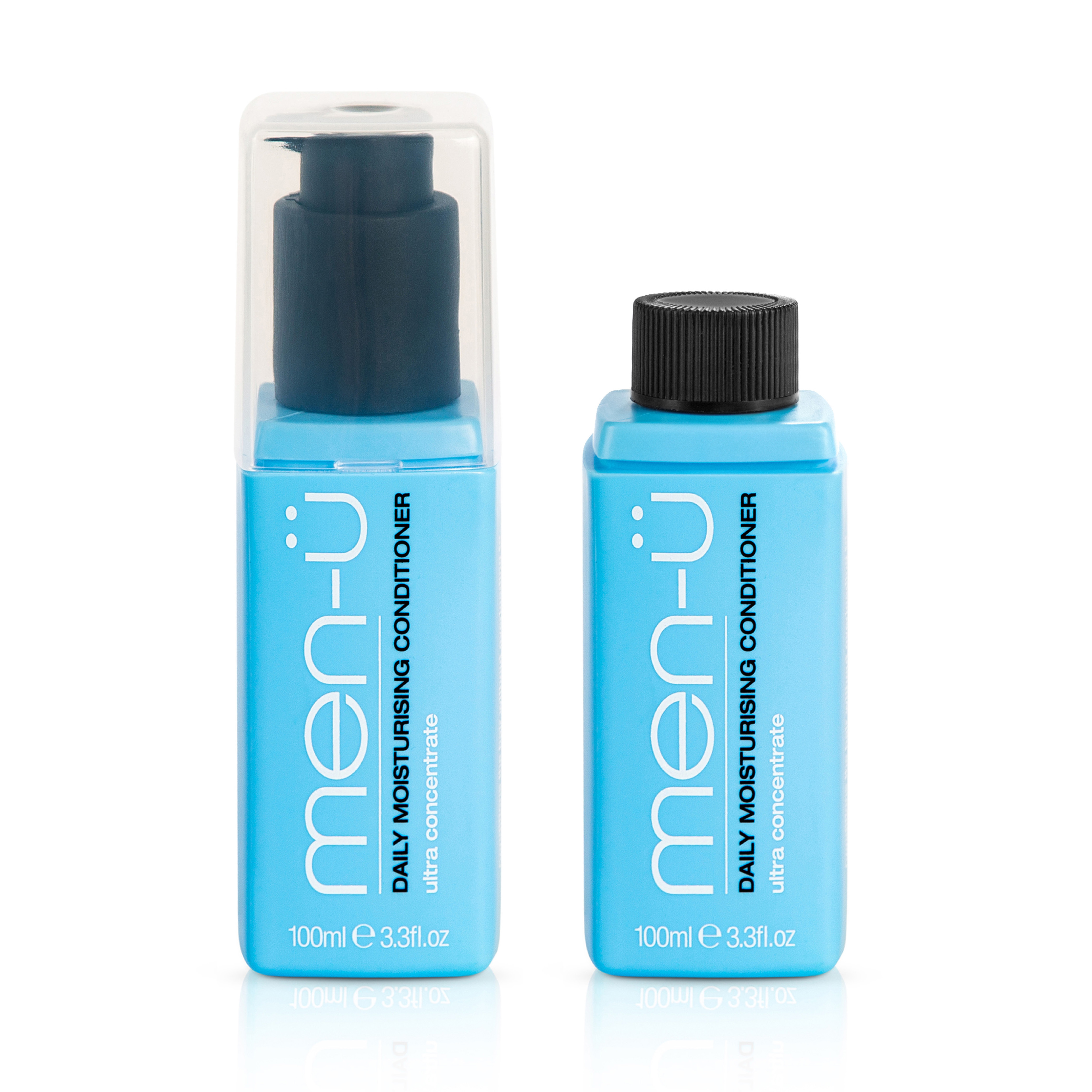 [Zestaw] men-u - męski codzienny szampon nawilżający do włosów 100ml produkt Mens Health + men-u męska odżywka nawilżająca do włosów 100ml