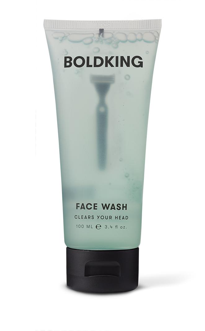 Boldking - Oczyszczający żel do mycia twarzy 100ml